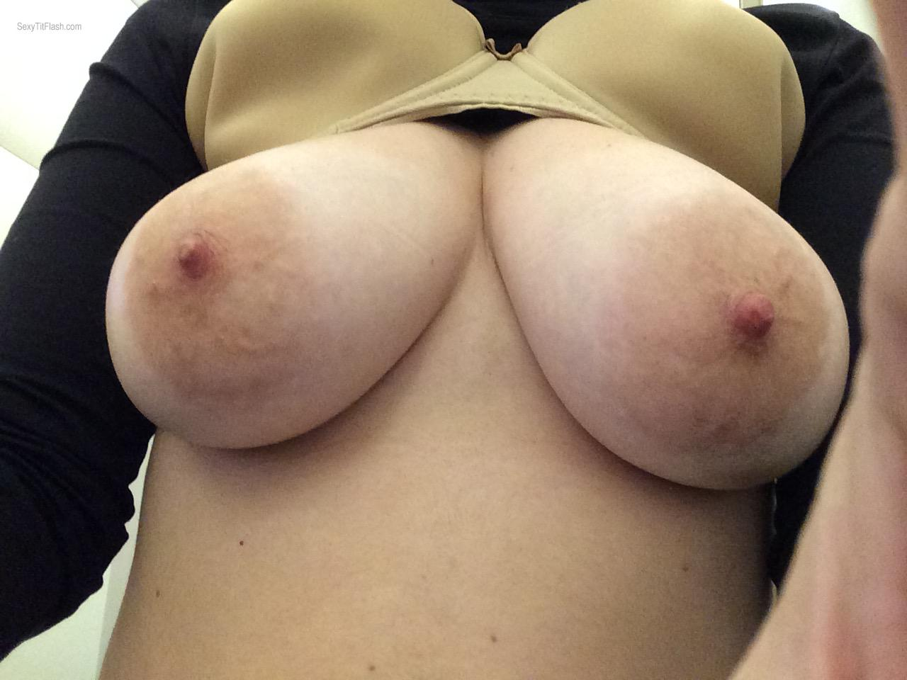 My Big Tits Selfie by Curvaliscious