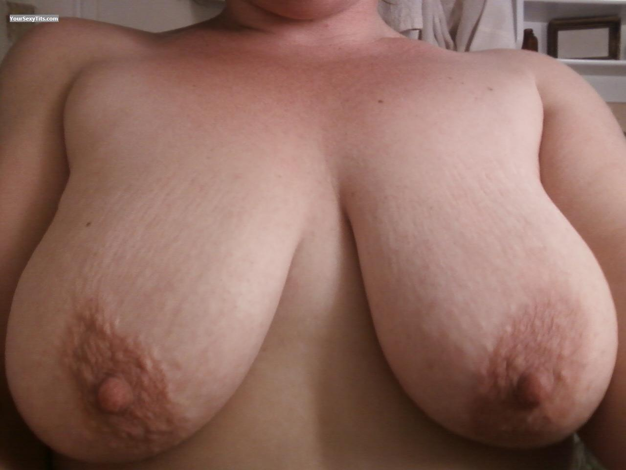 Tit Flash: My Big Tits - Andrea from United States