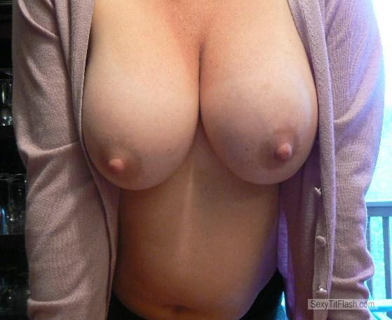 Look at my wifes tits