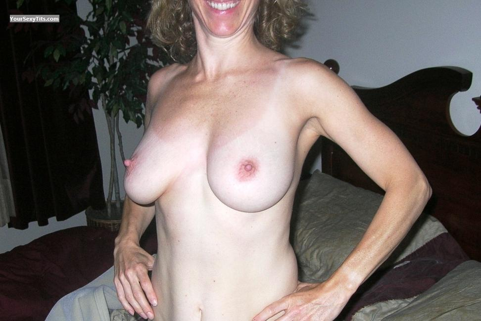 Tit Flash: Big Tits - Kay4you68 from United States