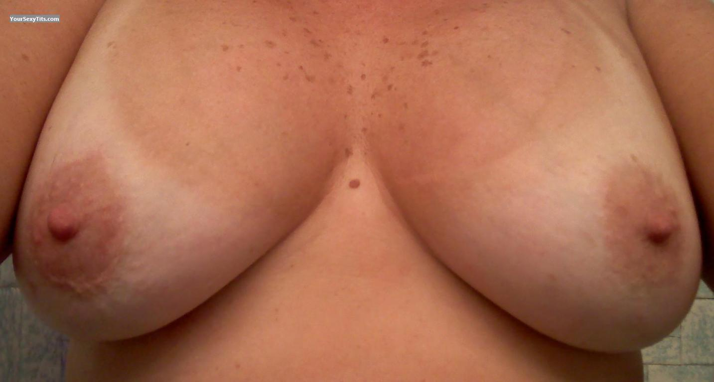 Tit Flash: My Big Tits (Selfie) - Morning All from United States