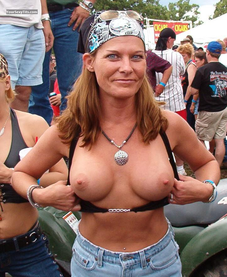Biker chicks with big tits