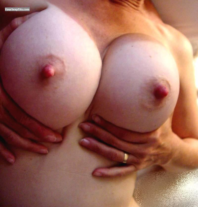 Tit Flash: Big Tits - SlutWife from United States