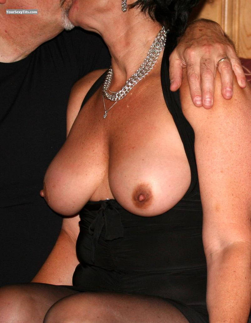 Tit Flash: Big Tits - Helen from Canada