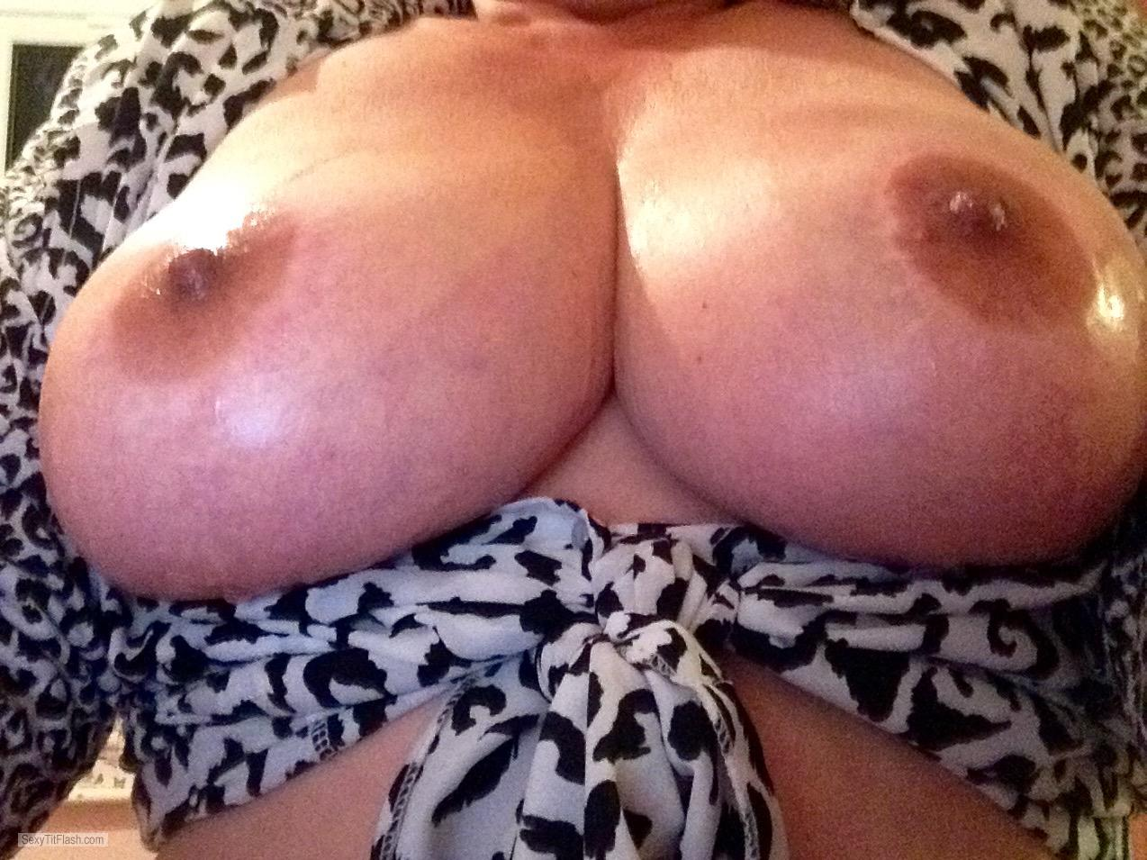 Big Tits Of My Wife Selfie by Hot Hayley