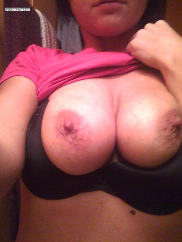 Tit Flash: My Big Tits (Selfie) - Nchottie from United States