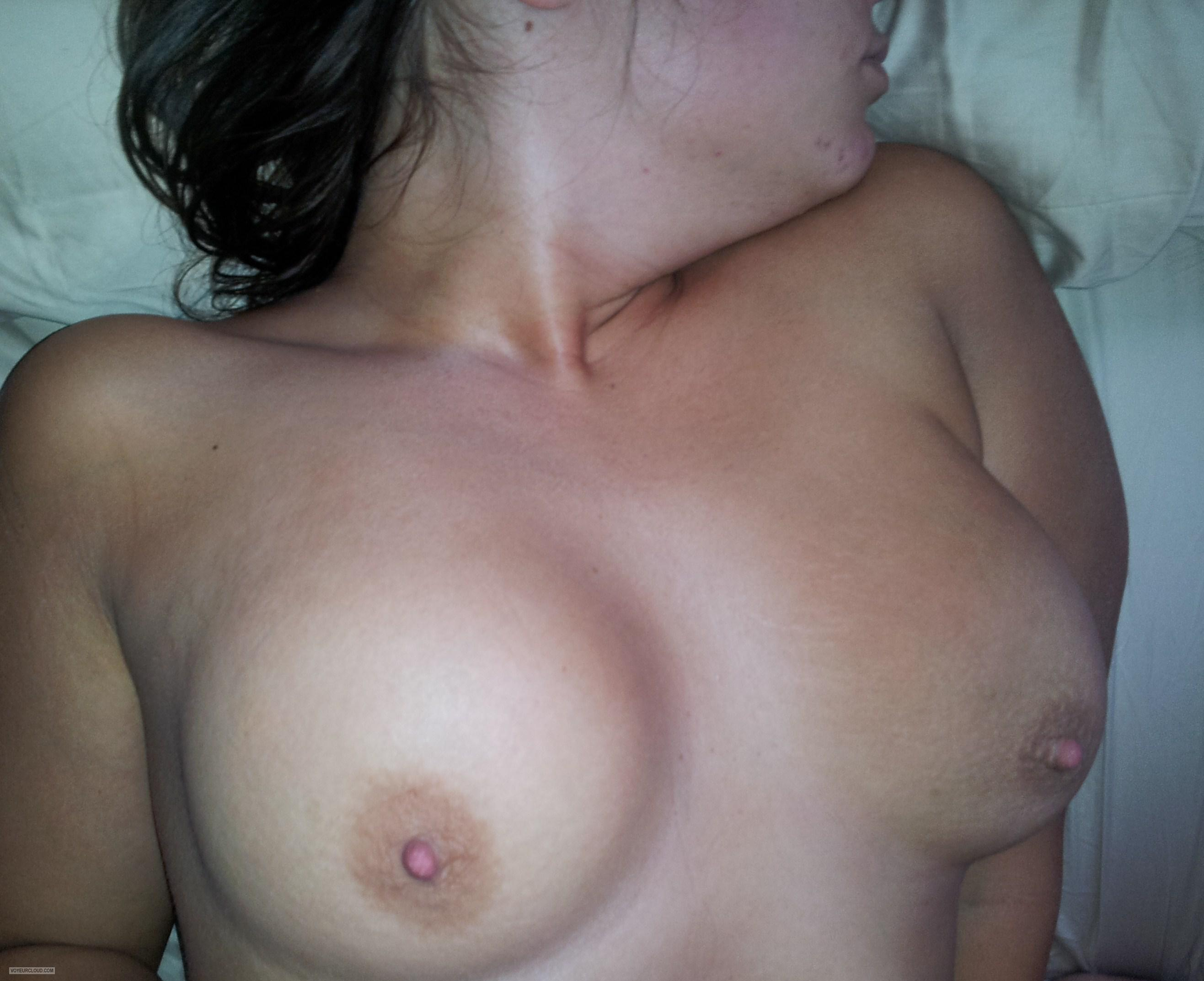 Tit Flash: My Big Tits - Sauri8 from United States