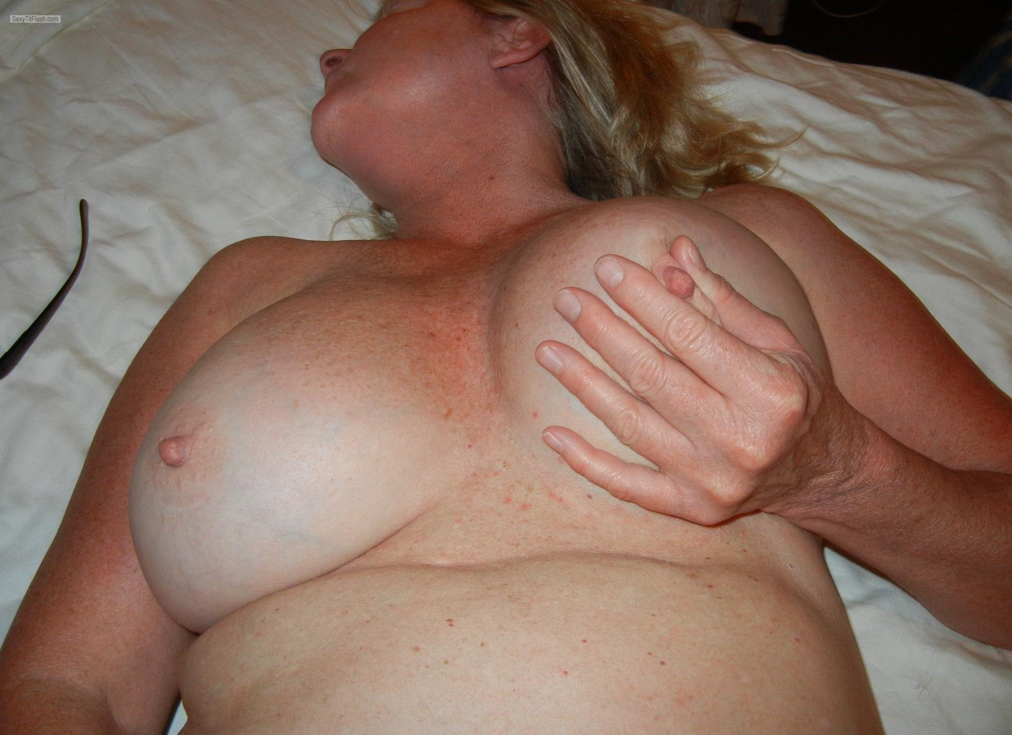 Tit Flash: Ex-Girlfriend's Big Tits - CLD from United States