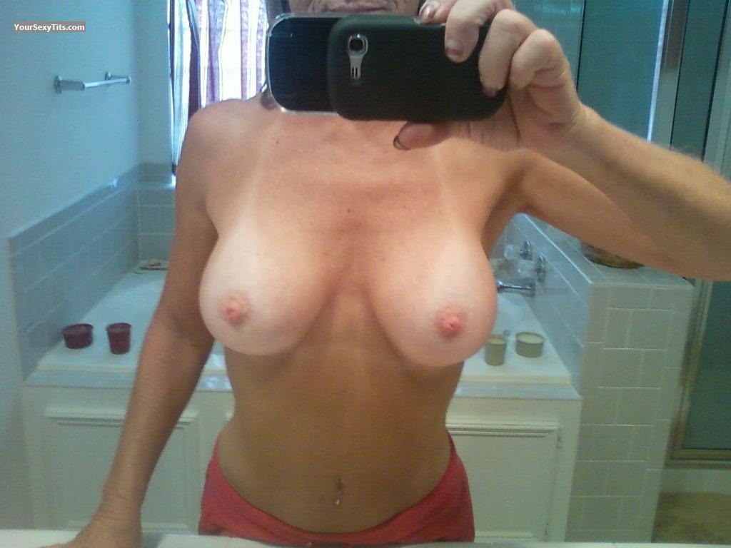 My Big Tits Selfie by Sis