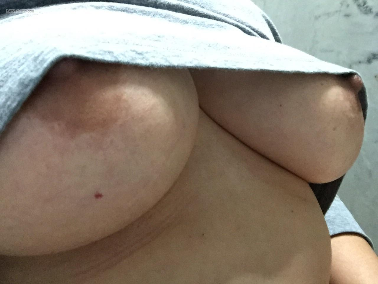 My Big Tits Selfie by Wife Tits