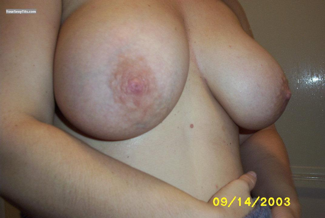 Tit Flash: My Big Tits (Selfie) - Chris from United States