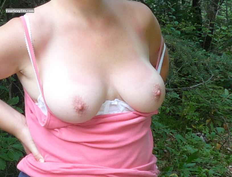 Tit Flash: Big Tits - Bb from Ireland