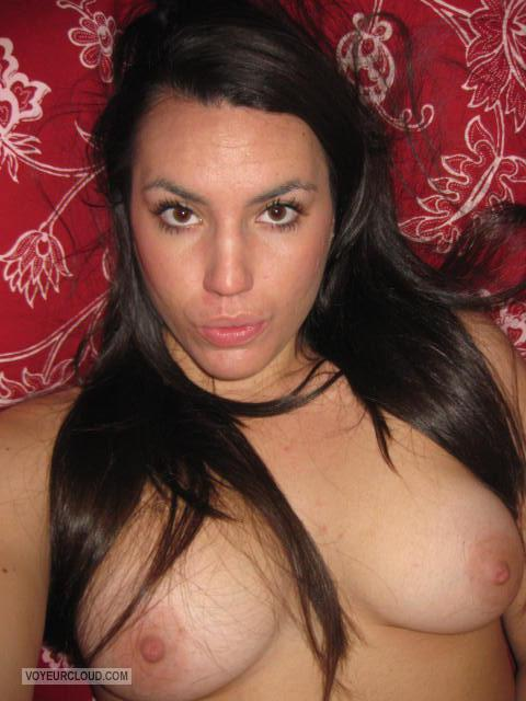 My Medium Tits Topless Selfie by Sarah S.