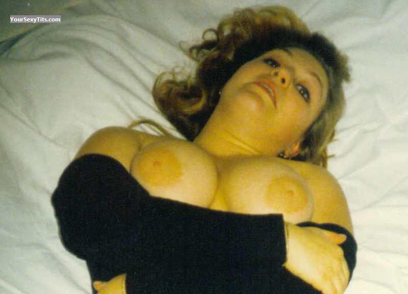 Tit Flash: Big Tits - Topless Tash from Germany