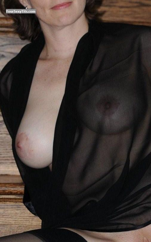 Tit Flash: Big Tits - Belle from United States