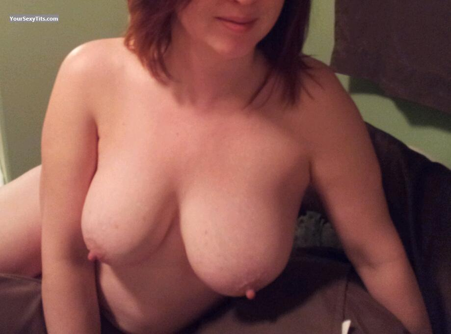 Tit Flash: Wife's Big Tits - C-16 from Canada