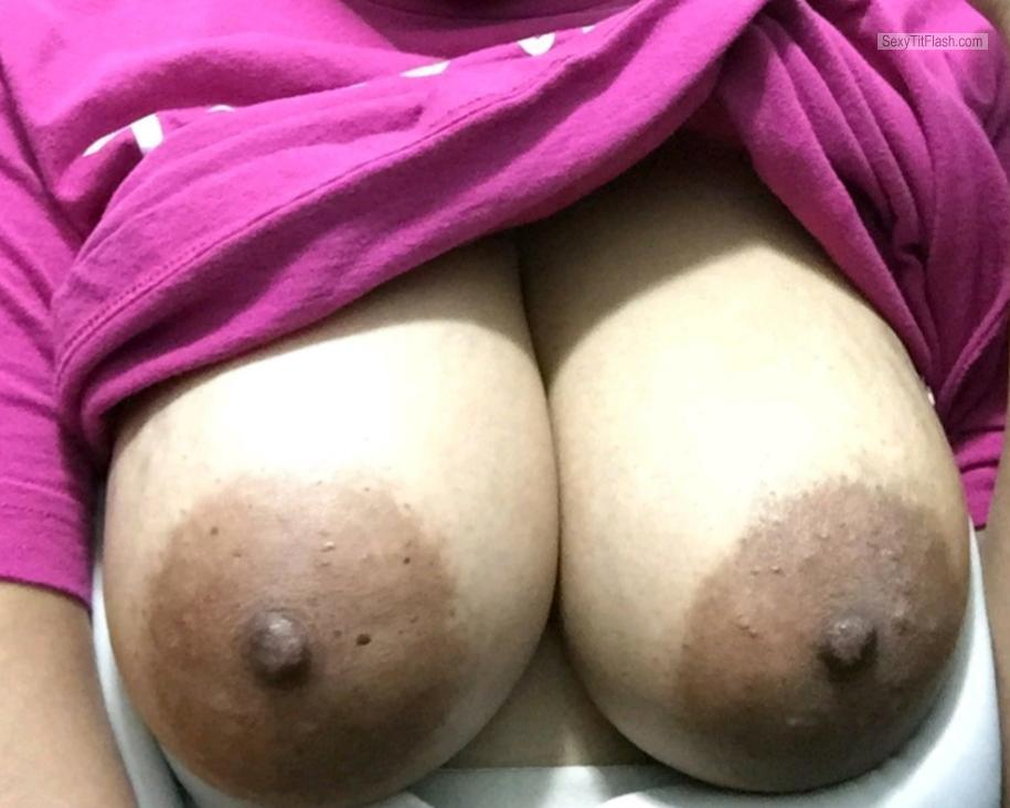 Big Tits Of My Wife Selfie by Sexy 🔥 M.F.