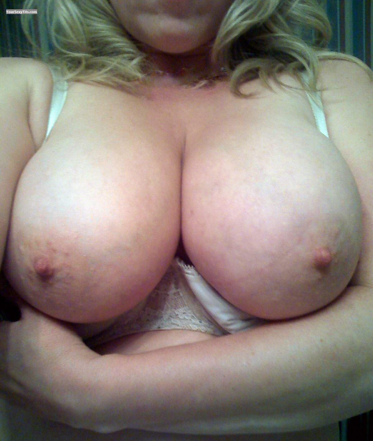 Tit Flash: My Big Tits (Selfie) - Angelina from United States