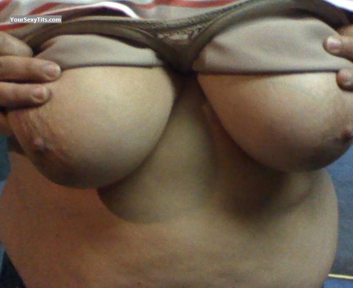Tit Flash: Big Tits - My Lady from United States