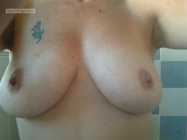 Big Tits Of My Girlfriend Selfie by A