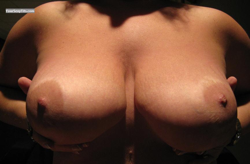Tit Flash: My Big Tits (Selfie) - First Time from United States