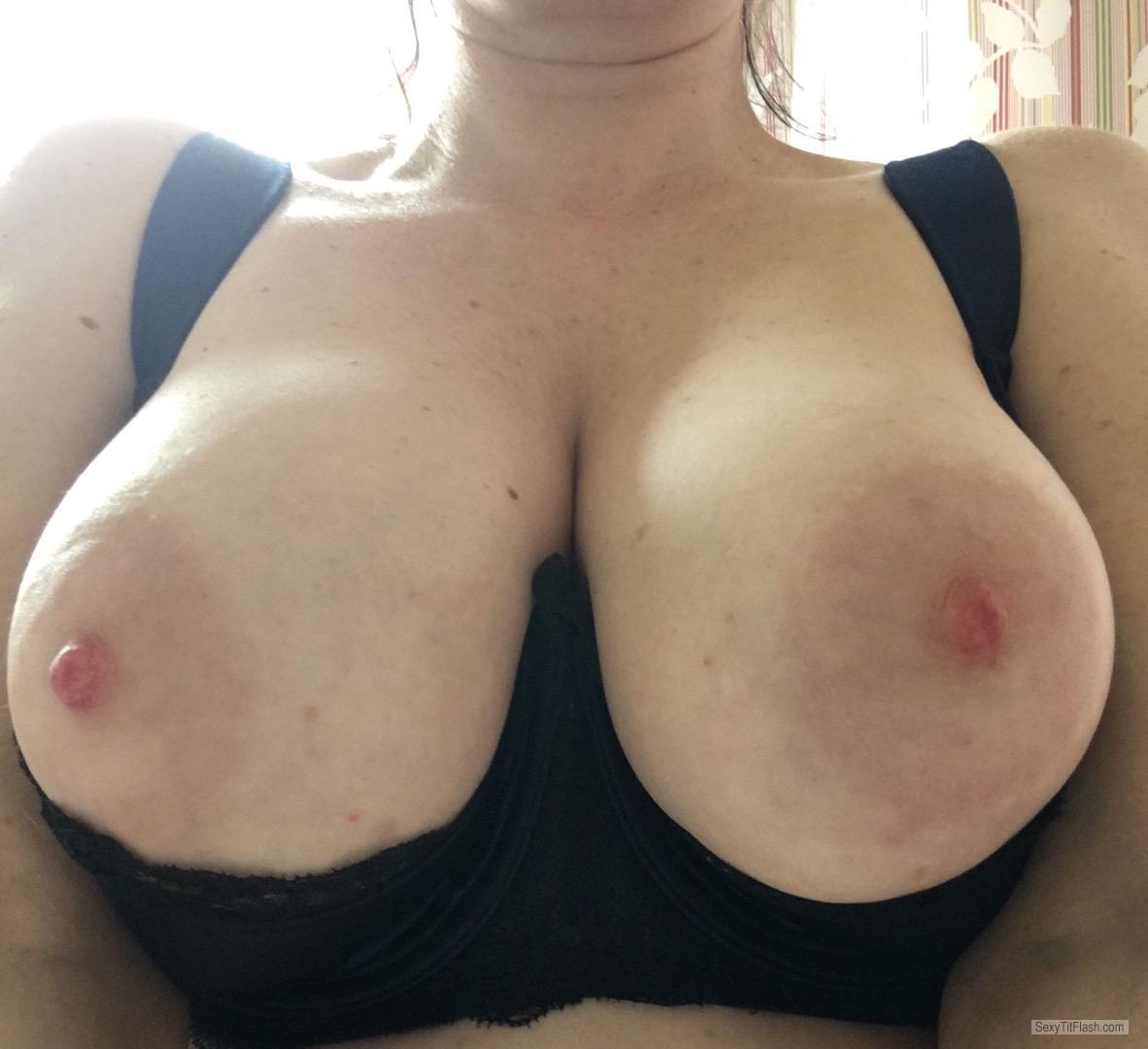 my big tits (selfie) - i ❤ shelf bras from united kingdom tit