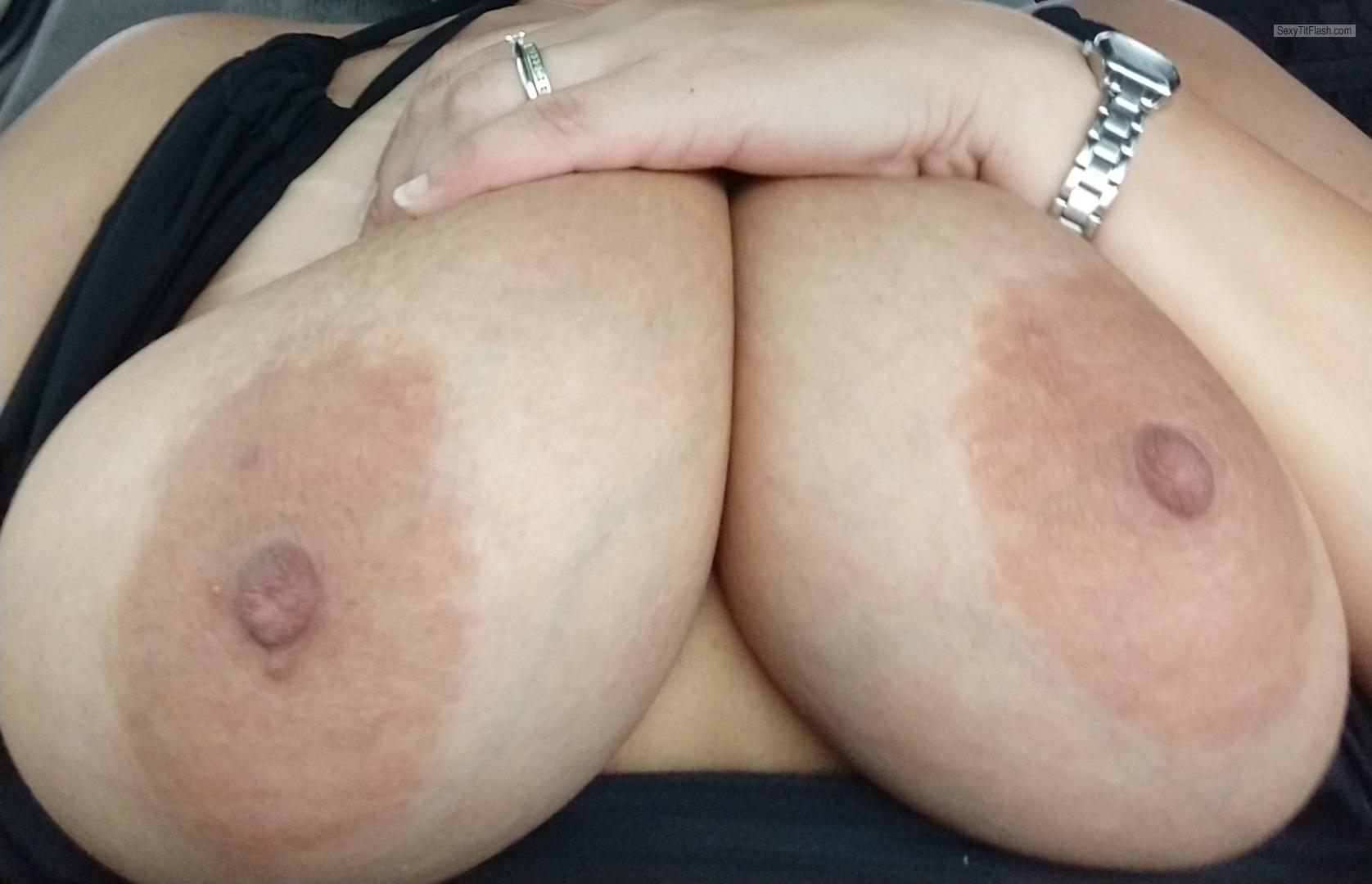 My Big Tits Selfie by Curvy