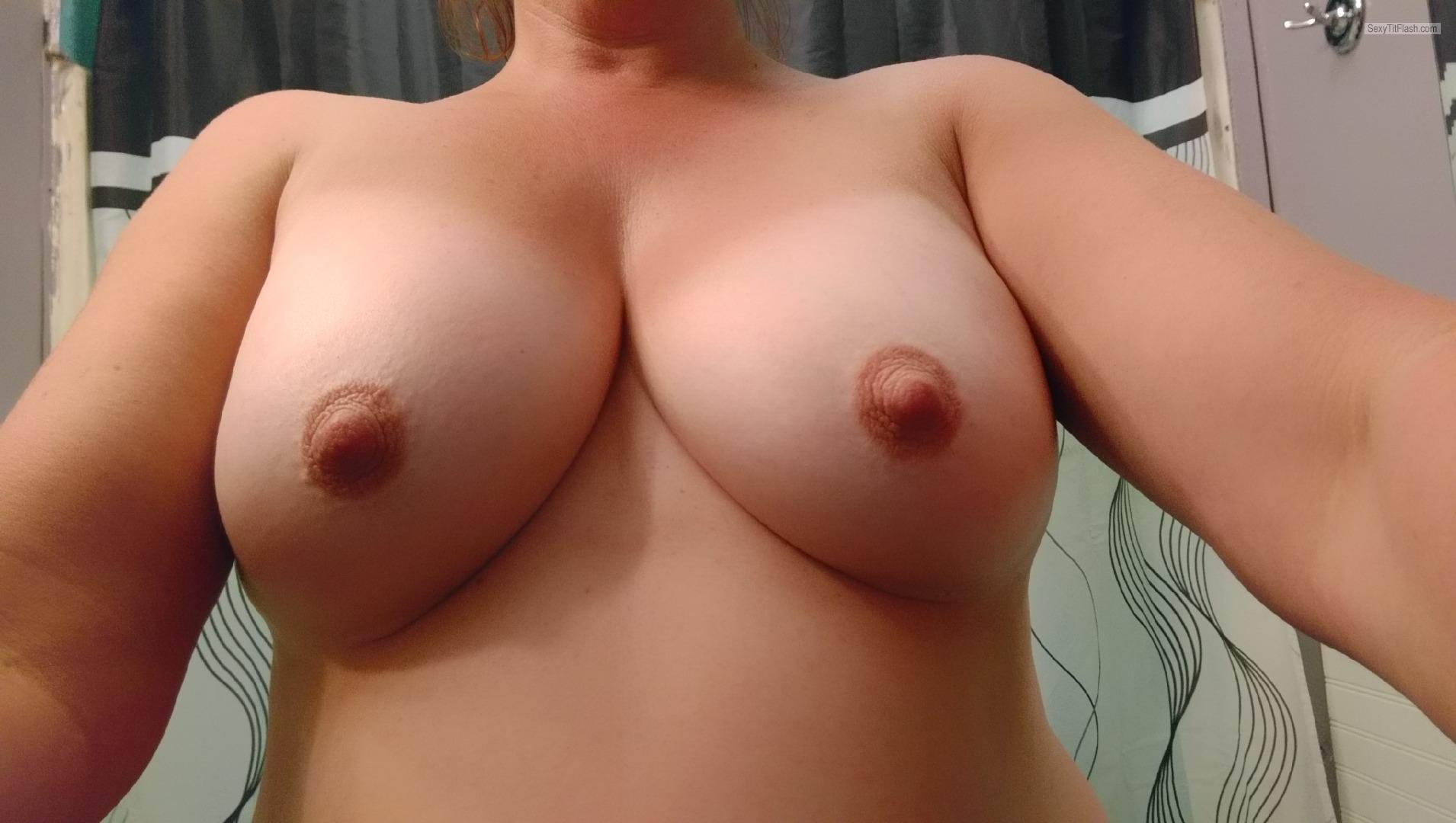 Tit Flash: My Big Tits (Selfie) - Milf Tits from United Kingdom