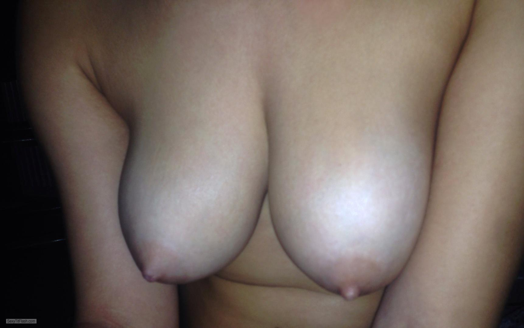 Tit Flash: My Big Tits (Selfie) - Naomi from United Kingdom