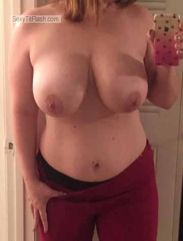 My Big Tits Selfie by Waiting For Hot Cum! 💦