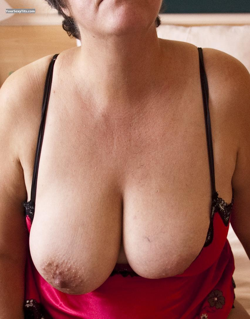 Tit Flash: Big Tits - Norden from Germany
