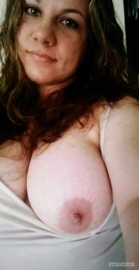 My Big Tits Topless Selfie by Oh Yeah
