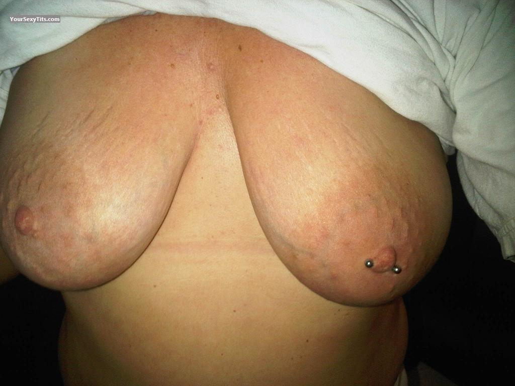 Tit Flash: Big Tits - Nips from United StatesPierced Nipples