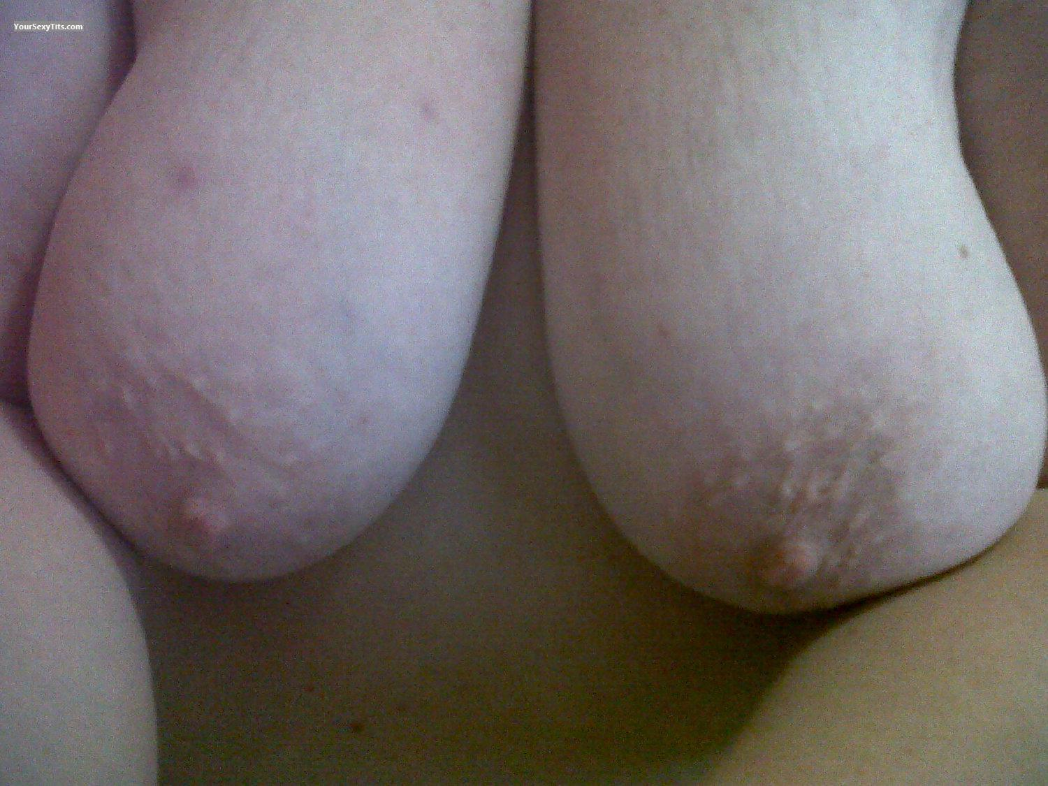 Big Tits Of My Wife Selfie by SweetJ