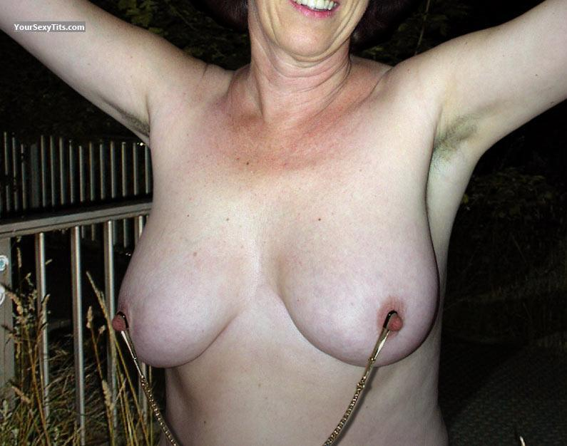 Tit Flash: Big Tits - Anne from Germany