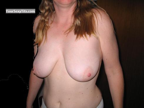 Tit Flash: Big Tits - Moosemilk from Canada