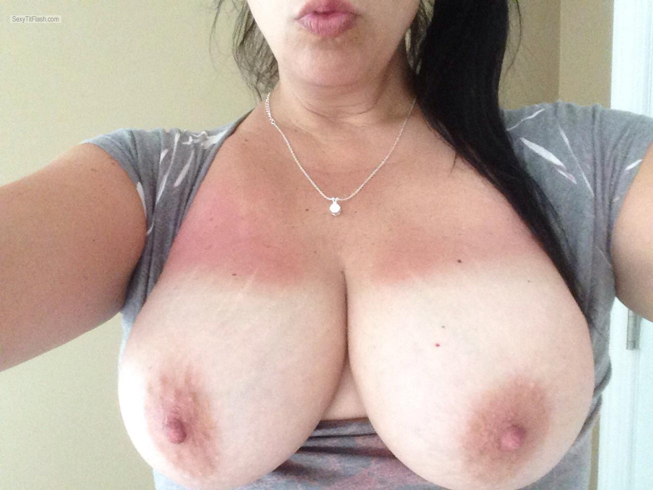 Tit Flash: My Big Tits - Shannon from United States