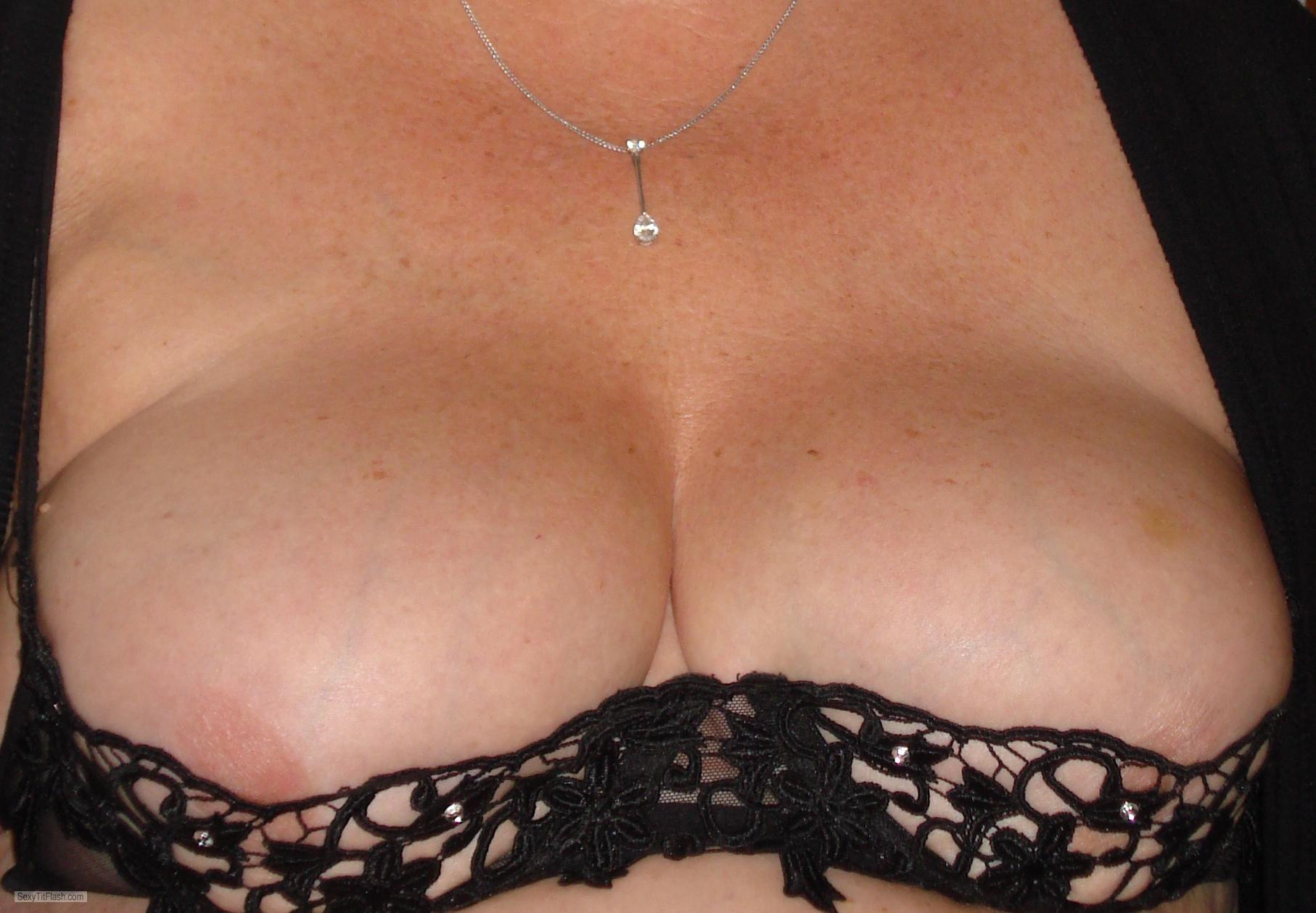 Tit Flash: My Friend's Big Tits - Sexy M from United States