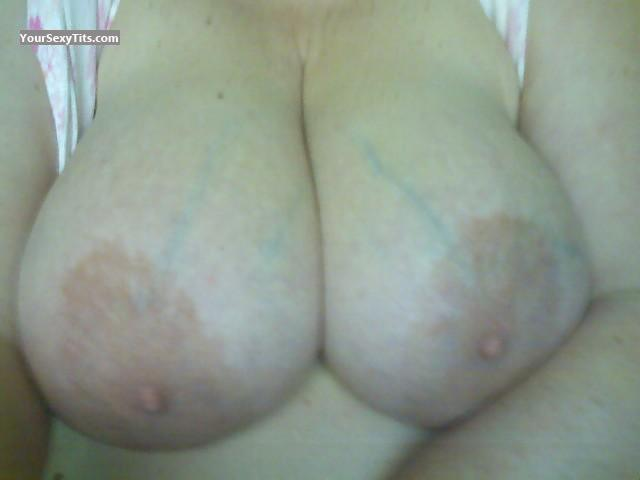 Tit Flash: My Big Tits (Selfie) - Tonya from United States