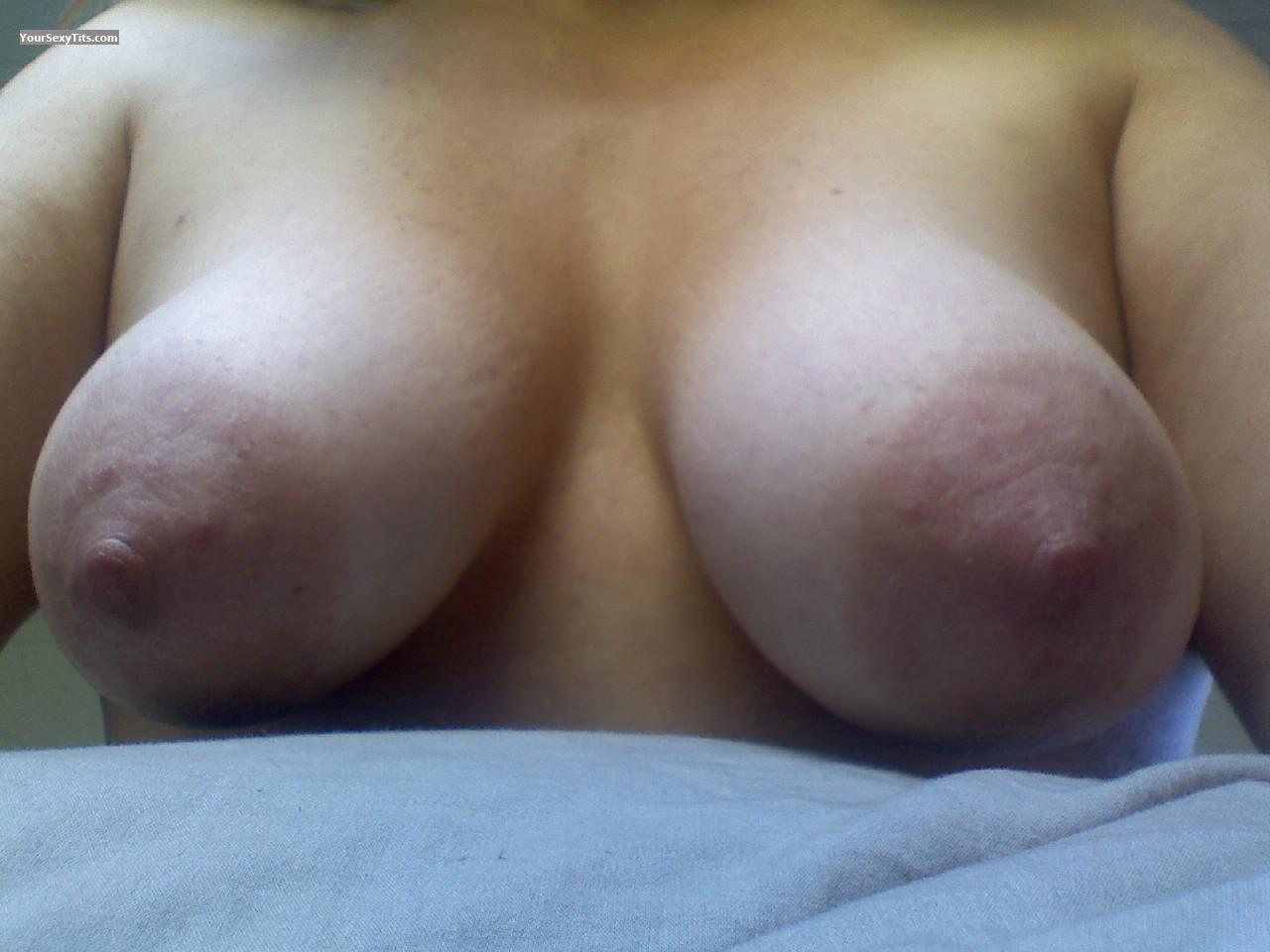 Tit Flash: My Big Tits (Selfie) - Hangin Out from United States