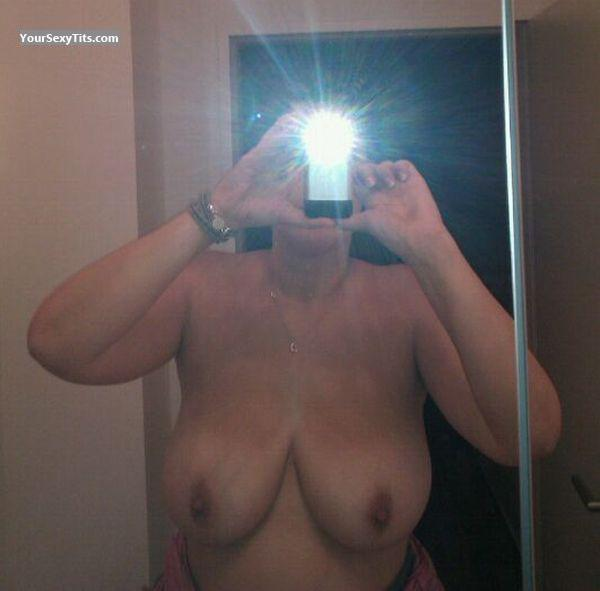 Tit Flash: My Big Tits (Selfie) - Ella from Germany