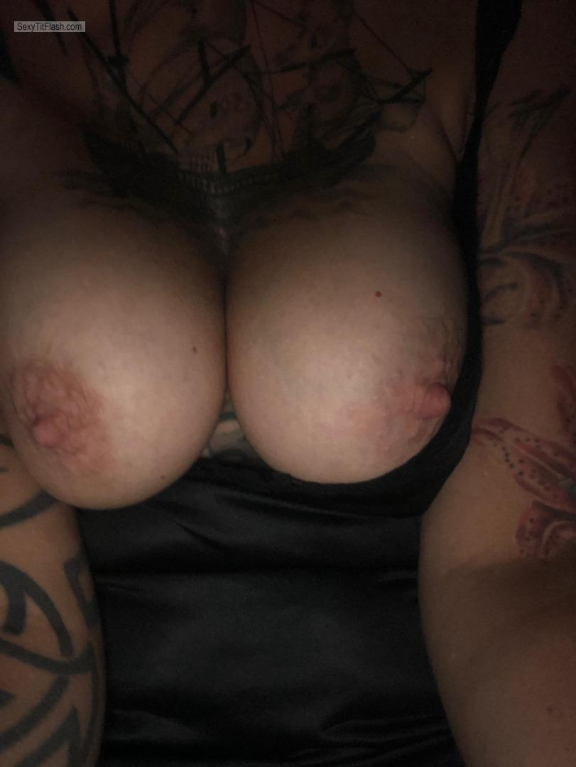 Tit Flash: My Big Tits (Selfie) - Jana, Yana from United Kingdom