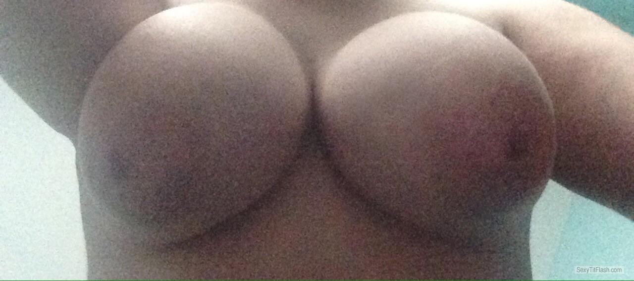 Tit Flash: My Big Tits (Selfie) - Hot L from Chile