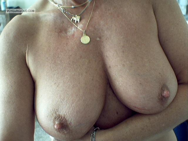 Tit Flash: My Big Tits (Selfie) - Took This One Myself ~D from United States