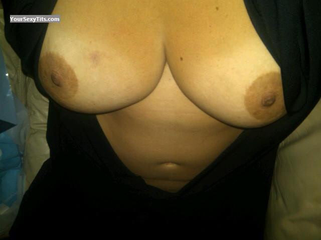 Tit Flash: Big Tits - Maria from United States