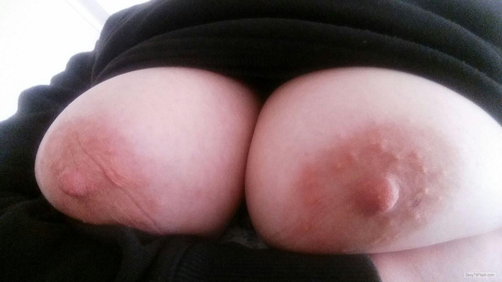 Big Tits Of My Wife Selfie by Ehesau