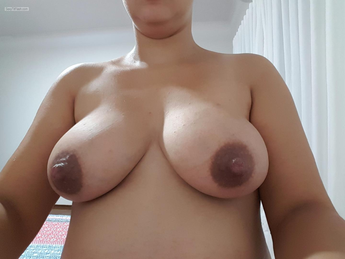 My Big Tits Selfie by Lah