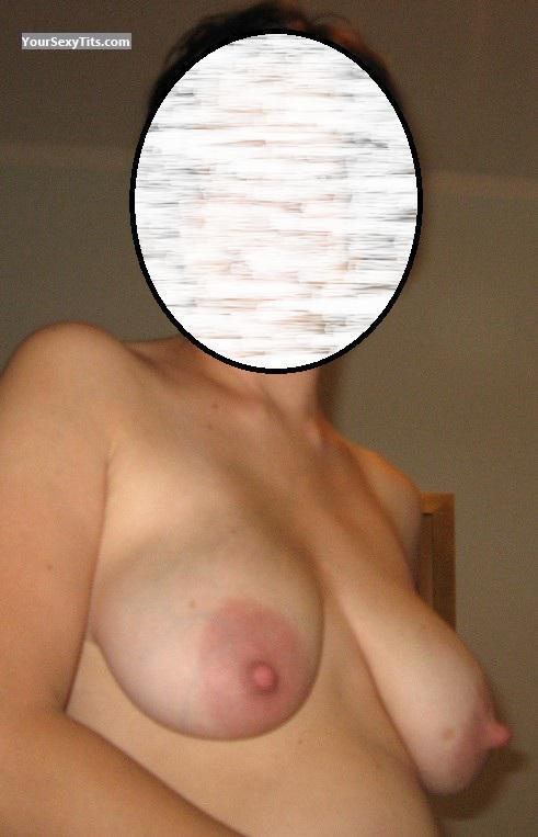 Tit Flash: Big Tits - Liz_b from France