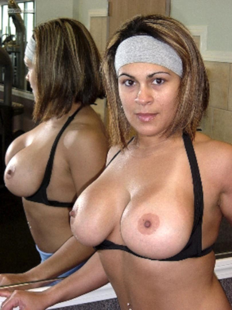 Latina with big tits fucked like mad