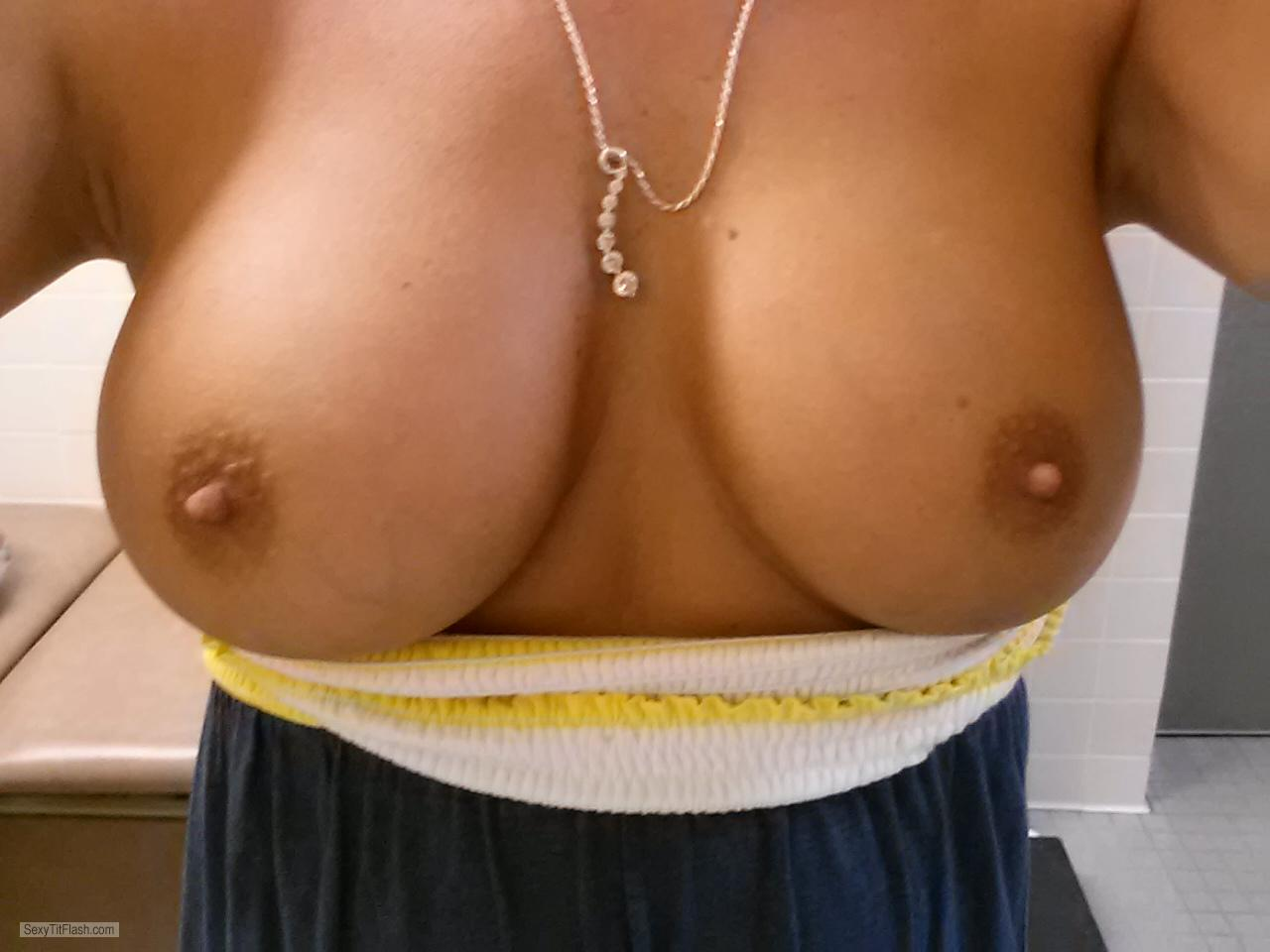 My Big Tits Selfie by WI Girl